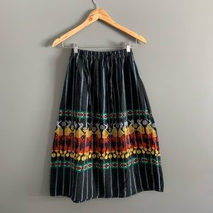 South American Style Skirt